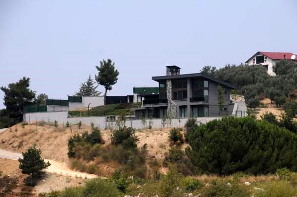 CHP'li başkanın kaçak olduğu iddia edilen villasına inceleme yapıldı