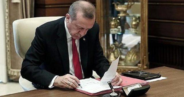 Cumhurbaşkanı Erdoğan, 3 bakanlık ile 1 kuruma atama yaptı