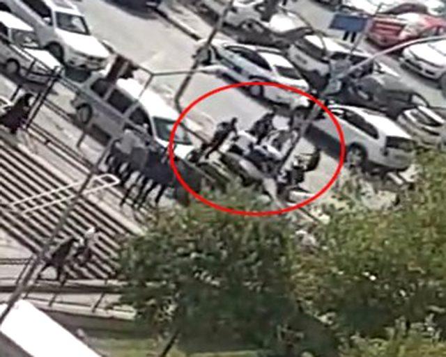 Kartal Anadolu Adliyesi'ndeki silahlı saldırının görüntüleri ortaya çıktı! Büyük panik kamerada