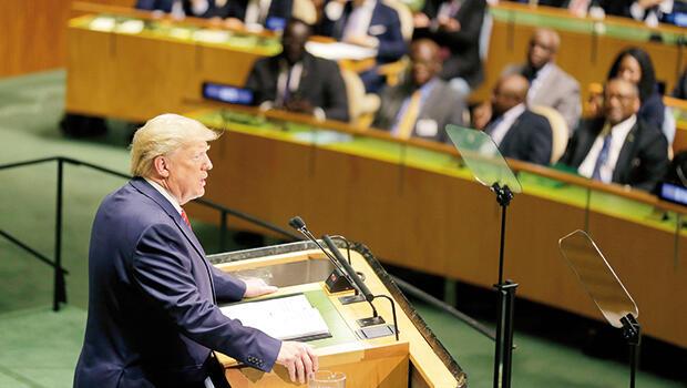 Trump BM'de konuştu… Gelecek vatanseverlerin
