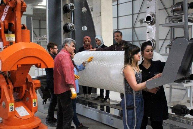 Van'da üretilen basınçlı doğal gaz tüpü için Almanya, Çin ve İran sıraya girdi