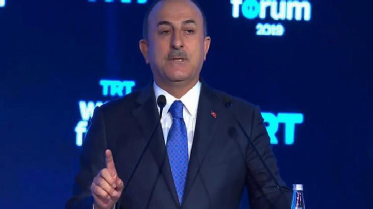 Son dakika… Bakan Çavuşoğlu'ndan Barış Pınarı Harekatı açıklaması