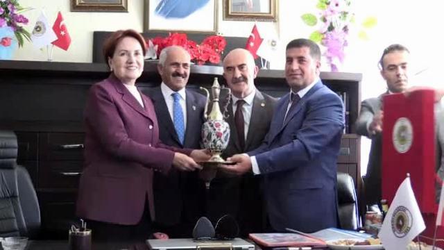 İYİ Parti Genel Başkanı Akşener, Muş'ta