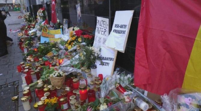 Almanya'daki dehşetli katliamın akabinde Sözcü.com.tr Hanau'da
