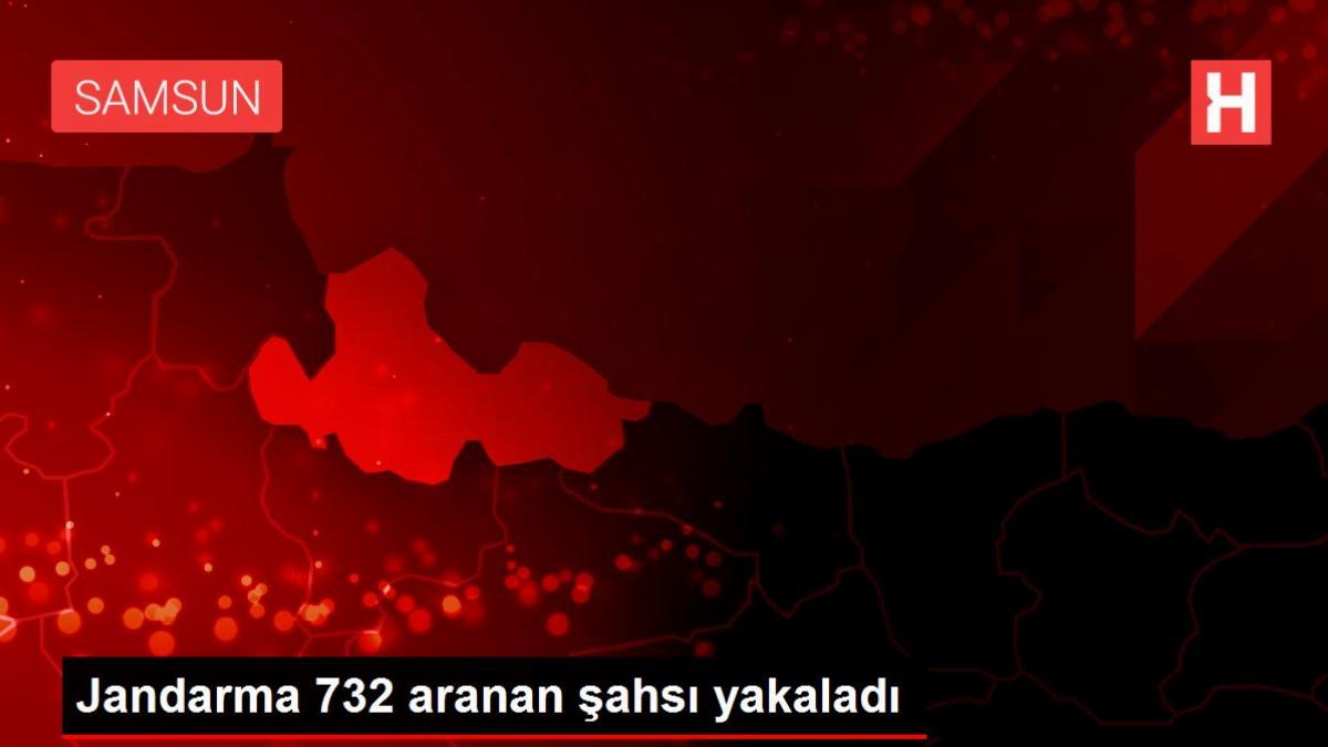 Jandarma 732 aranan şahsı yakaladı