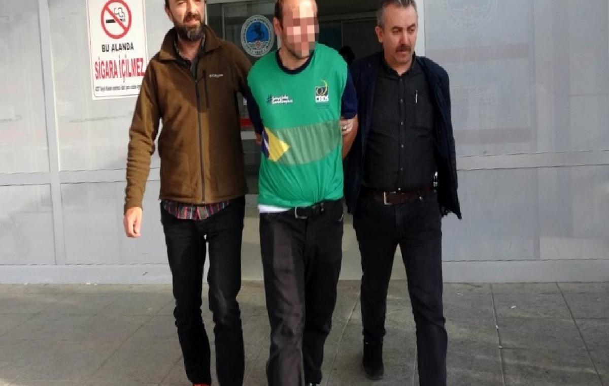 Samsun'da 8 aylık hamile Iraklı kadına saldıran yakalandı