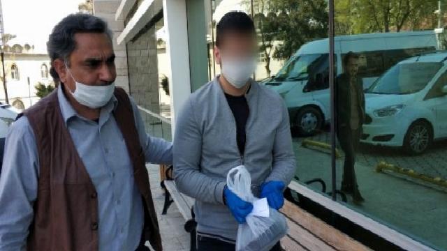 10 yıl hapis cezası bulunan genç tutuklandı