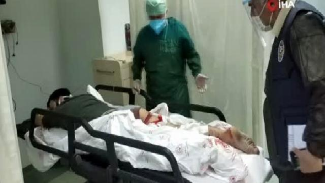 Üvey oğlunun silahlı saldırısına uğrayan baba ile oğlu hastanelik oldu