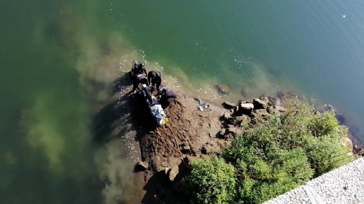 Köprüden ırmağa atlayan gencin cesedi bulundu