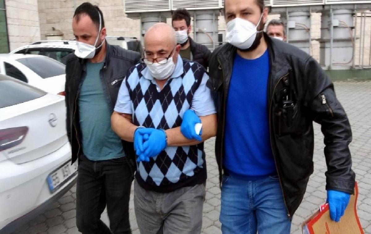 Samsun'da komşunu öldüren şahıs adliyeye sevk edildi