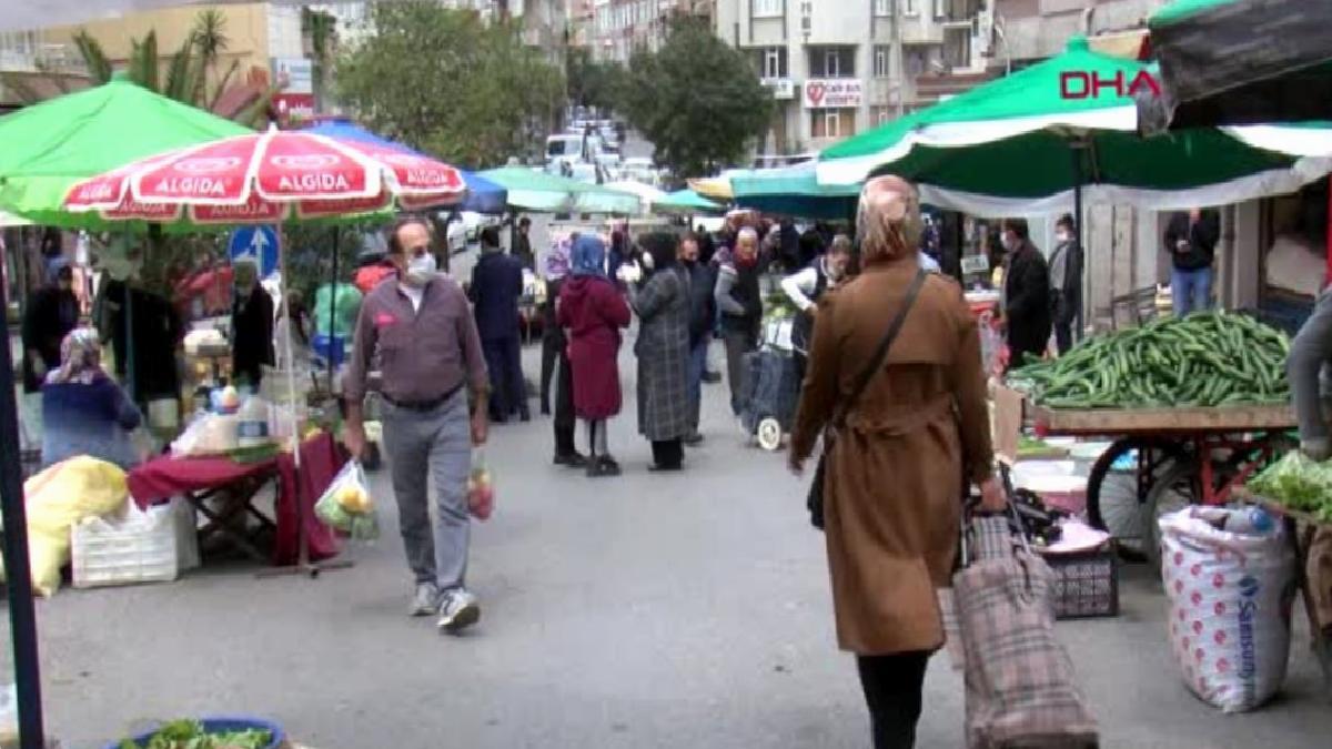 Samsun'da pazarlarda yoğunluk