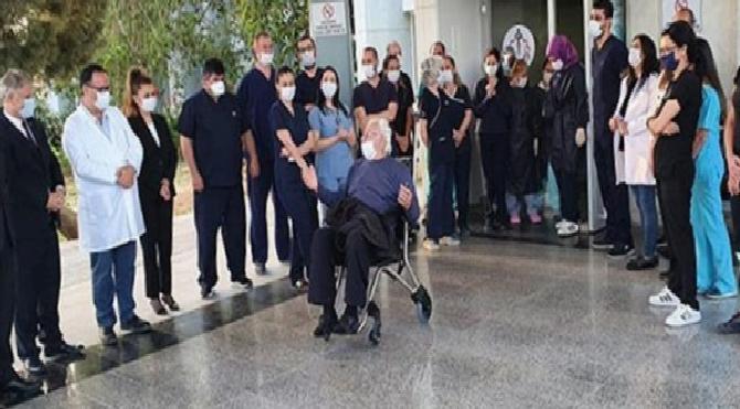 Sevindiren haber KKTC'den geldi! Son hasta da taburcu oldu
