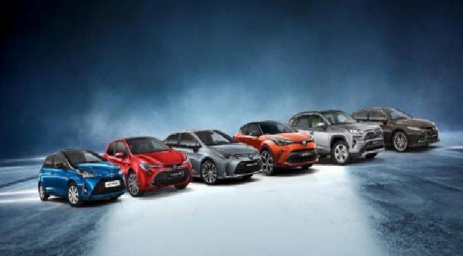 3 milyonuncu hibrit otomobillerini teslim ettiler!