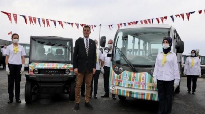 Adalar'daki elektrikli araçların hizmete gireceği tarih ve ücreti belli oldu