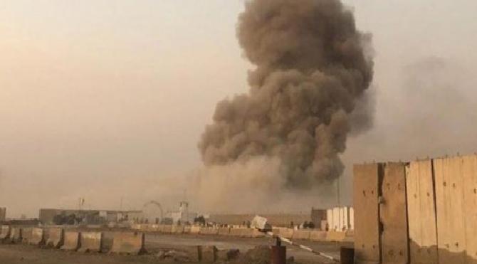Bağdat'ta askeri üste peş peşe patlamalar!