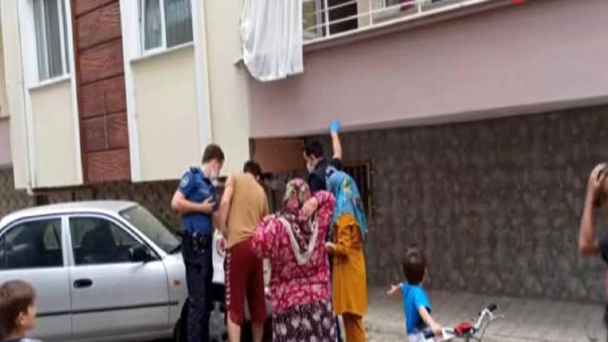 Balkondan düşen 3 yaşındaki çocuk yaralandı
