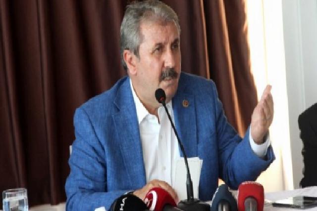 """BBP Genel Başkanı Destici: """"İstanbul Sözleşmesi'ni yırtıp atmamız lazım"""""""