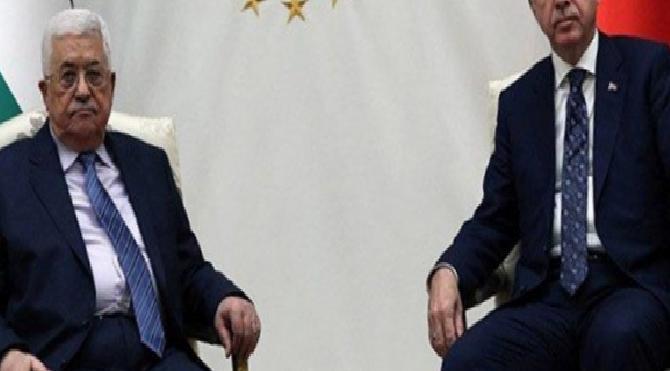 Erdoğan, Mahmud Abbas ile görüştü!