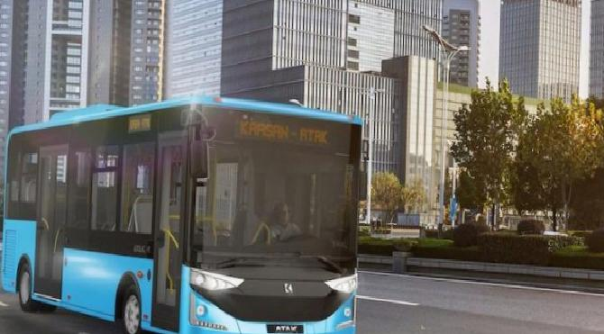 Fas'a 25 adet otobüs gönderdiler!