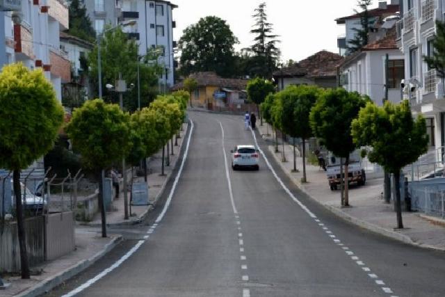 Havza'da asfalt çalışmaları tamamlandı