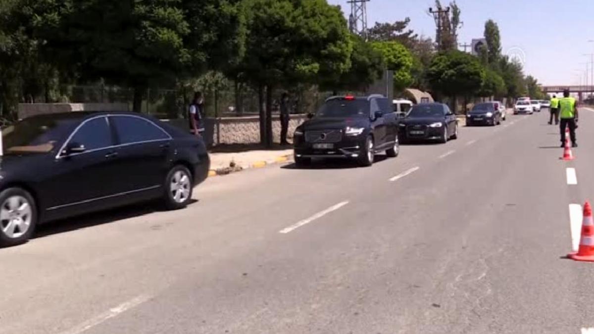 Jandarma Genel Komutanı Orgeneral Çetin, trafik denetimine katıldı