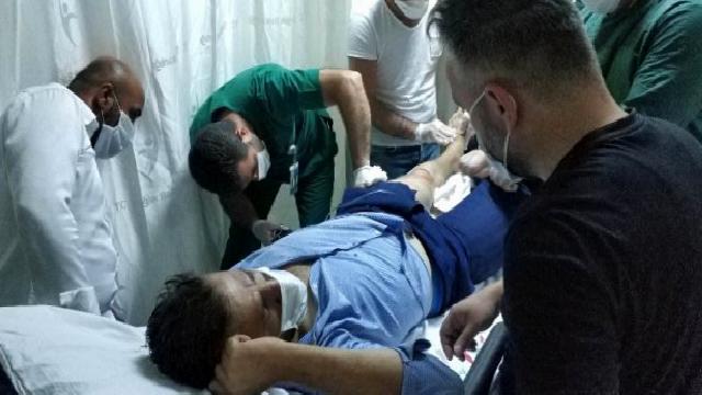Kardeşinin silahlı saldırısına uğrayan şahıs hastanelik oldu