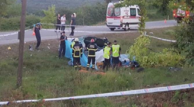 Kocaeli'de feci kaza: 5 kişi hayatını kaybetti!