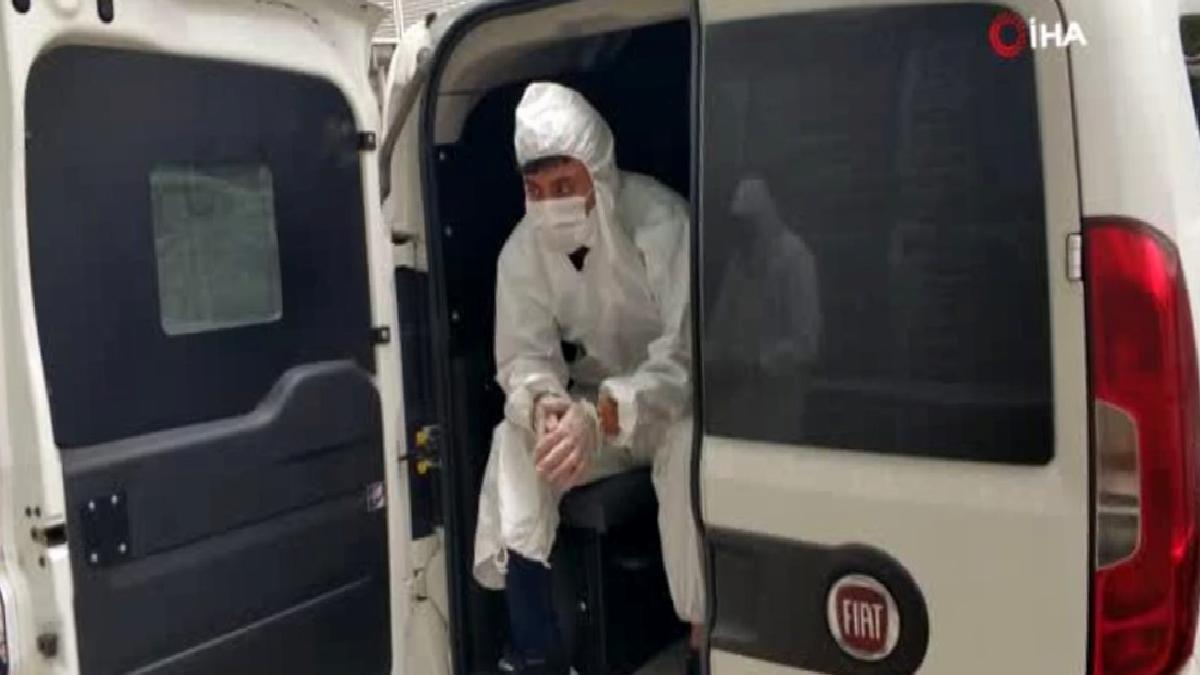 Korona virüs testi pozitif çıkan bıçakla yaralama zanlısı tutuklandı