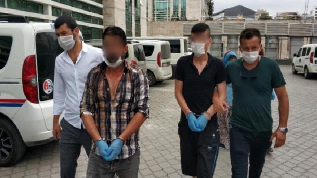 Samsun'da polislere saldırdığı iddia edilen 3 kişi gözaltında