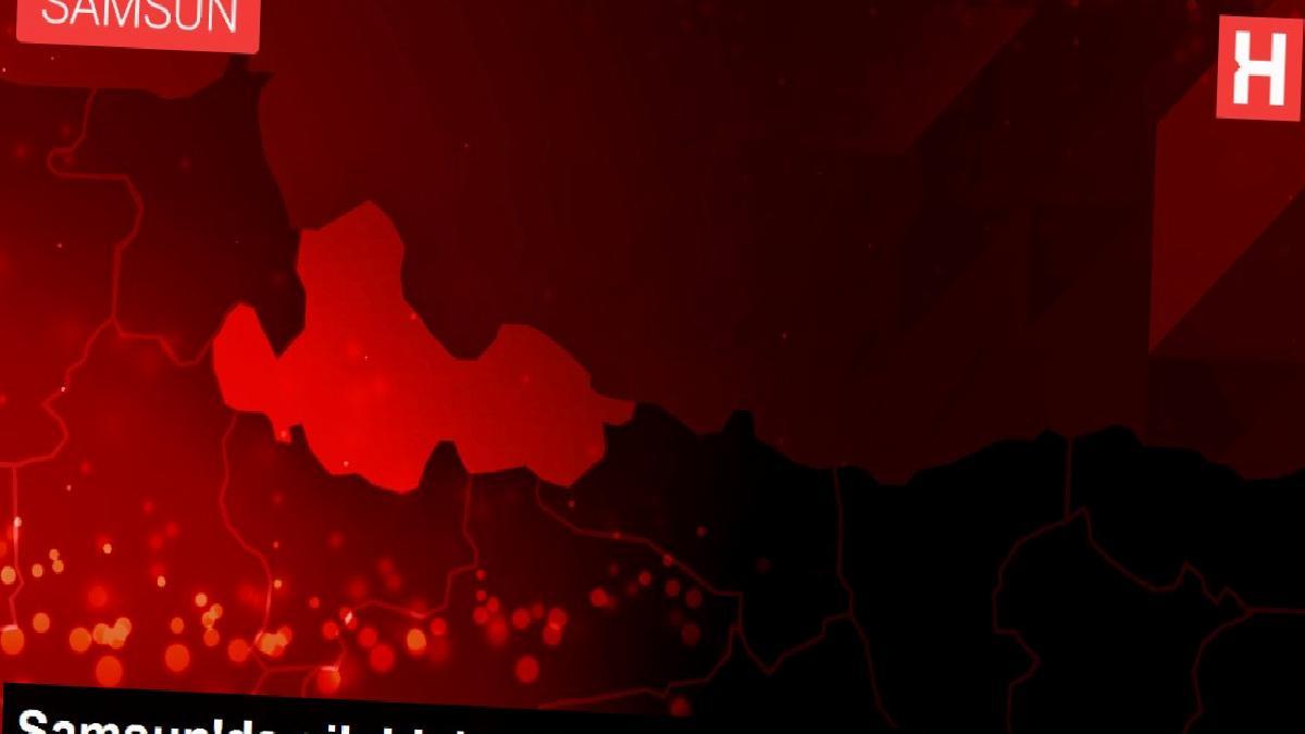 Samsun'da silahlı bayram kutlaması