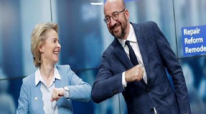 Son dakika… AB liderleri 750 milyar euro'luk corona fonunda anlaştı
