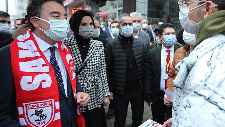 DEVA Partisi Genel Başkanı Ali Babacan Samsun'dan seslendi
