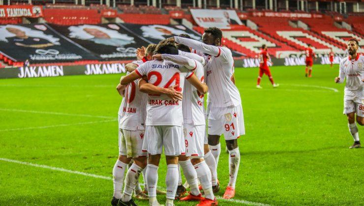 Yılport Samsunspor: 1 Beypiliç Boluspor: 0 (Maç sonucu)