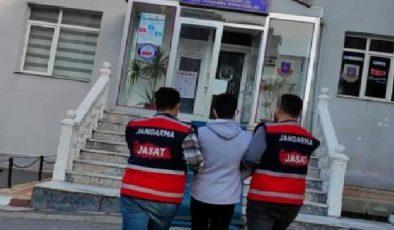 Hapis cezası bulunan 2 kişi jandarma tarafından yakalandı