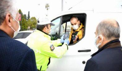 Kısıtlama ve karantinayı ihlal eden pozitif hasta, Vali Dağlı'ya yakalandı