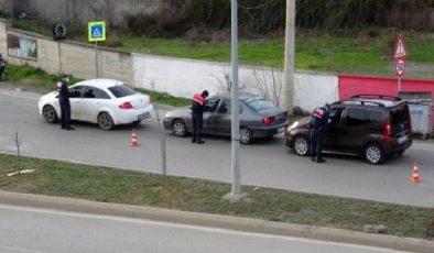 İlkadım Jandarma'dan sokağa çıkma yasağı uygulaması