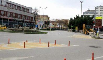 Samsun kısıtlamaya uydu, sokaklar boş kaldı