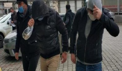 Samsun'da uyuşturucudan 4 kişi adliyede