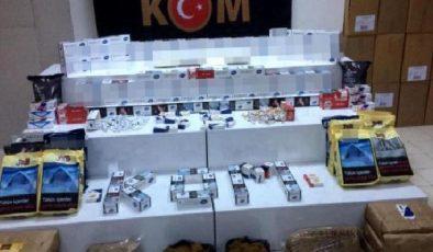 Son dakika haber! Samsun'da kaçak tütün mamulleri operasyonu