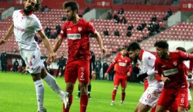TFF 1. Lig: Samsunspor: 1 Boluspor: 0