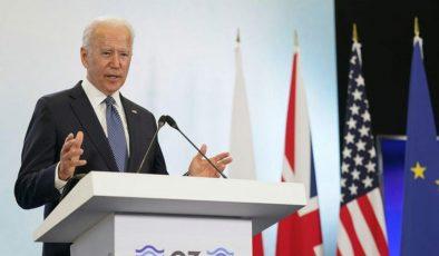 Biden: G-7'de Çin'le ilgili adımlardan tatmin oldum Ekonomi Haber