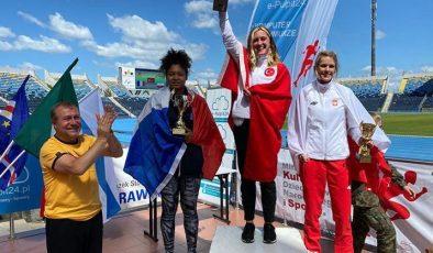 Fatma Damla Altın'ın memleketinde başarının gururu yaşanıyor
