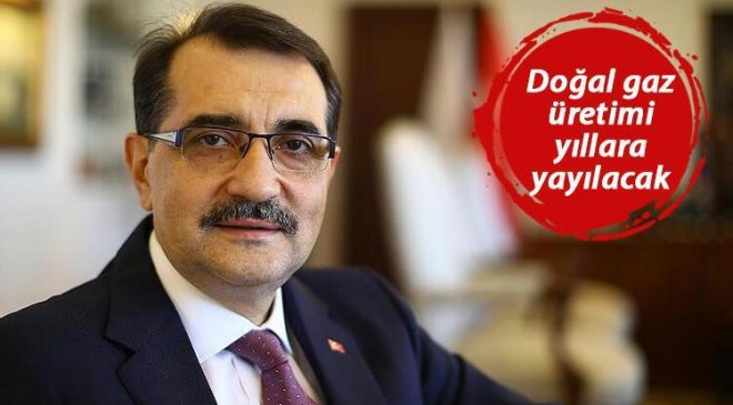Son dakika… Bakan Dönmez'den doğal gaz açıklaması: Yüzde 30-35 gaz ihtiyacı karşılanacak