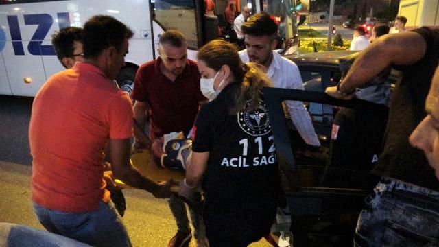 Son dakika haberi: Tokat'ta kırmızı ışık ihlali kazaya neden oldu: 1 yaralı