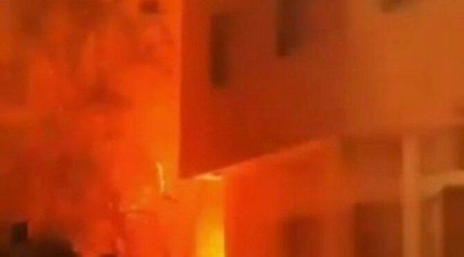 Tahran'da korkutan patlama